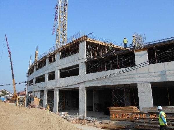 Site Progress - February 2015